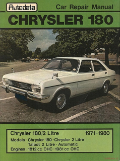 Chrysler 180 / 2 Litre (71-80)