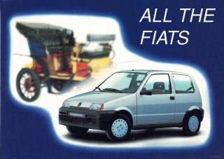 All the Fiats 1899-1991
