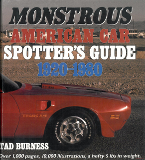 Monstrous American Car Spotter's Guide, 1920-1980