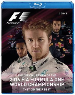 BLU-RAY: Formula 1 2016 Official Review