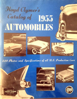 Floyd Clymer's Catalog of 1955 Automobiles
