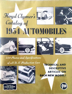 Floyd Clymer's Catalog of 1954 Automobiles