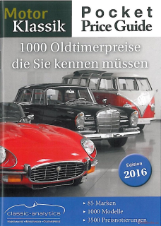 Pocket Price Guide by Motor Klassik