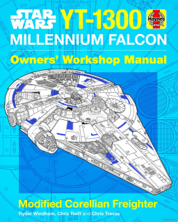 Star Wars YT-1300 Millennium Falcon Manual - Modified Corellian Freighter