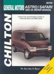 Chevrolet Astro/GMC Safari Mini-vans (85-05)