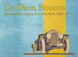 De Dion - The Essential Library & Source Book 1888-1931