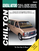Chevrolet/GMC full-size Vans (98-10)