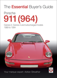 Porsche 911 (964) - Carrera 2, Carrera 4 and turbocharged models 1989-1994