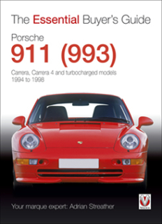 Porsche 911 (993) - Carrera 2, Carrera 4 and turbocharged models 1994-1998