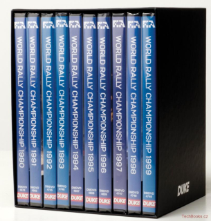 DVD: WRC Collection 1990-1999 (10 DVD)